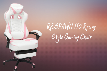 RESPAWN 110 Racing Style Pink Gaming Chair