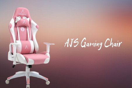 AJS Pink Gaming Chair